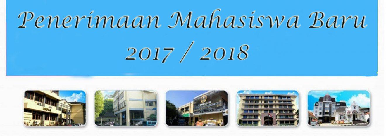 Permalink to:Informasi Penerimaan Mahasiswa Baru 2017/2018 Gel II
